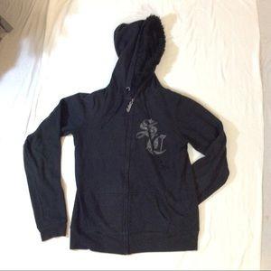 Sweaters - Hooded zip up So Cal sweatshirt size Medium
